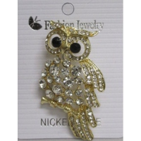 Mode hibou broche