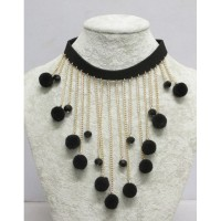 Black tassel jewelry