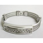 Steel bracelet for men