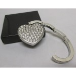 Rhinestone heart bag