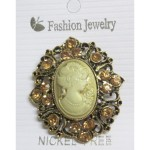 Cameo brooch for retailer