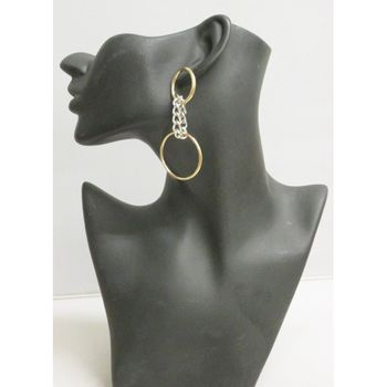 Earring dangling chain