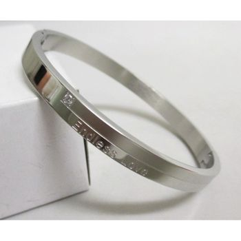 Endless love steel bracelet