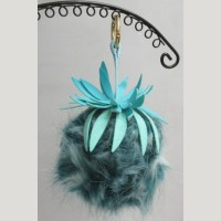 Pineapple fur jewelry