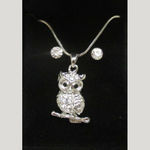 Jewelry owl perched