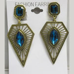 Graphic earrings