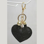 Jewelry heart accessory handbag