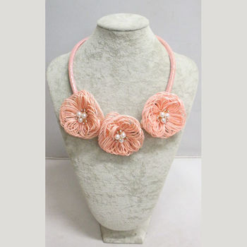 Selection of flower jewelry