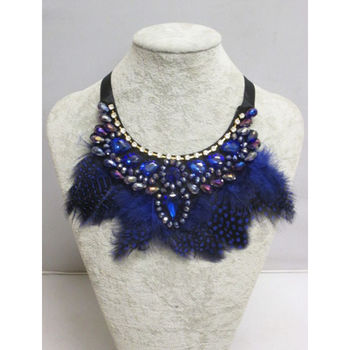 Trend jewelry feather