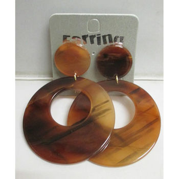 Resin winter jewelry
