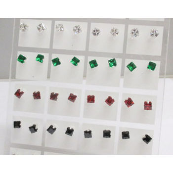 Little size zircon earring