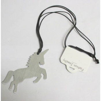 unicorn necklace jewelry