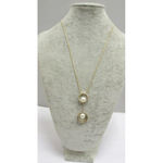 necklace long necklace woman pearl pendant