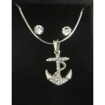marine anchor pendant jewelry
