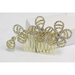 wedding hair accessories: comb