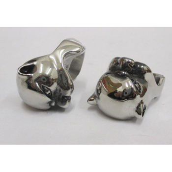 steel dog man ring
