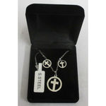 steel cross jewelry for women