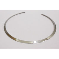 torque necklace steel hoop