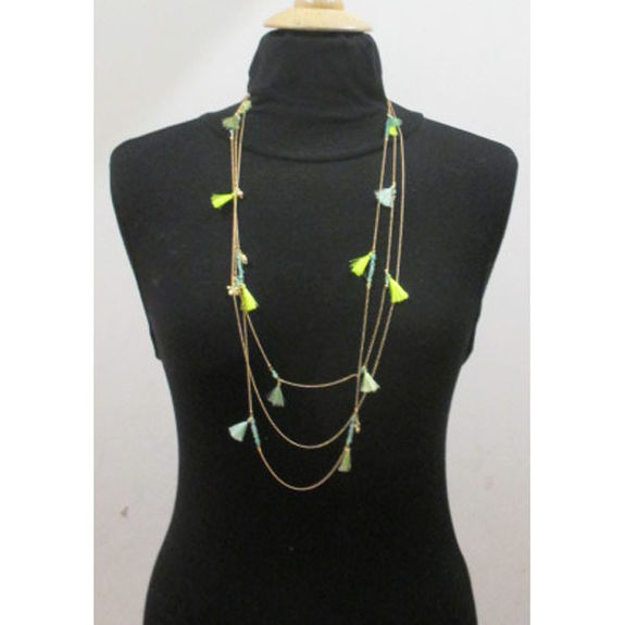 multi row necklace for women
