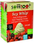 Crème à fouetter  SOJA CUISINE (Soja Whip) « SOYATOO » : 300 ml