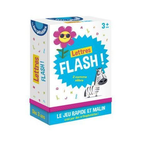 Lettres flash - Les incollables