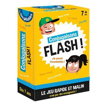 Conjugaisons flash - Les incollables