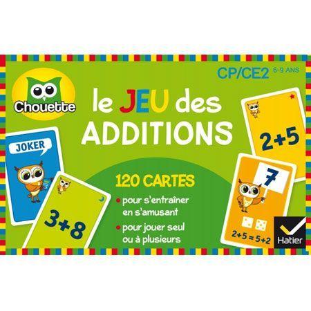 Jeu des additions