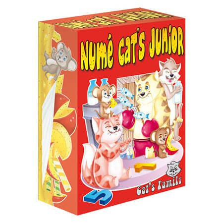 Numé Cat's Junior - Le jeu de cartes