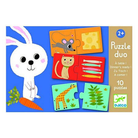"Puzzle Duo - ""Animal et aliment"