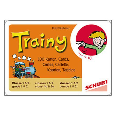Cartes d'apprentissage Trainy addition et soustraction jusqu'à 10