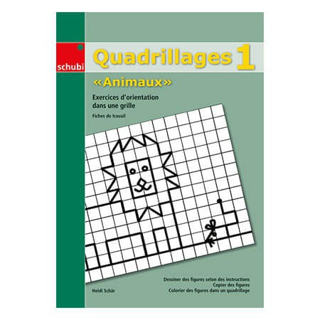 Quadrillages « Animaux » 1