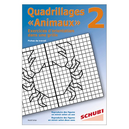 Quadrillages « Animaux » 2