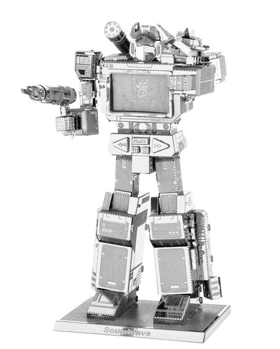 Transformers- SoundWave MetalEarth