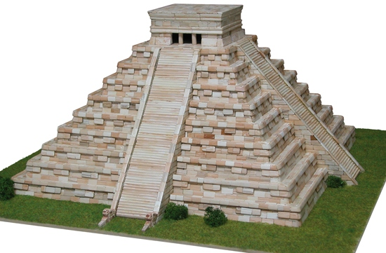 Temple de Kukulcan -Mexique