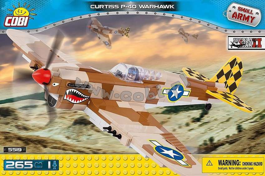 Curtiss P40-K Warhawk