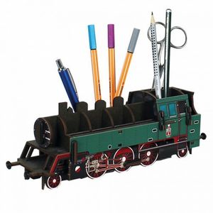 Locomotive Pot à crayons à assembler