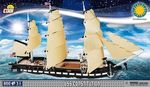 USS Constitution - 800 pcs, 3 figurines