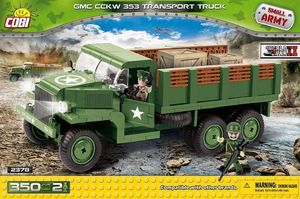 CCKW 353 transport - 350 pcs, 2 figurines