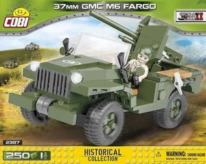 M6 Fargo 37MM - 250 pcs, 1 figurine