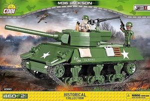 M36 Jackson - 460 pcs, 2 figurines