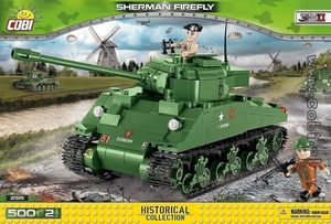 Sherman Firefly - 500 pcs , 2 figurines