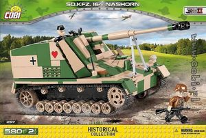 SD.KFZ. 164 Nashorn - 580 pcs, 2 figurines