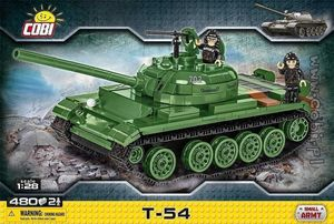 T-54 - 480 pcs, 2 figurines