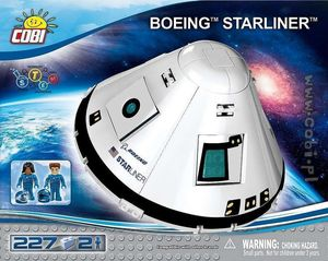 CST-100 Starliner - 227 pcs - 2 figurines