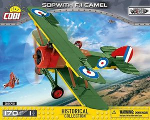 Sopwith F.1 Camel - 170 pcs, 1 figurine