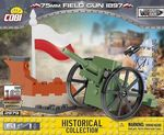 Mitrailleuse 75mm Field 1897 - 61 pcs, 1 figurine