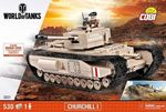 World of Tank - Churchill I - 530 pcs, 1 figurine