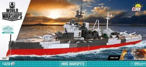 World of Warships HMS Warspite - 1420 pcs