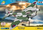 De Havilland Mosquito Mk.VI - 370 pcs, 1 figurine