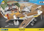 Messerschmitt BF 109 mission africaine - 500 pcs, 3 figurines